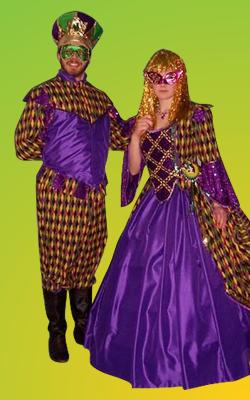 Mardi Gras - Couple