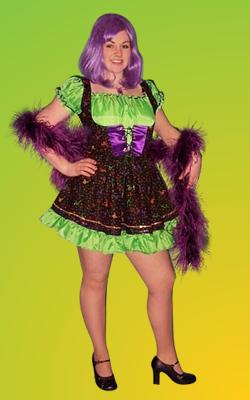 Mardi Gras - Lady