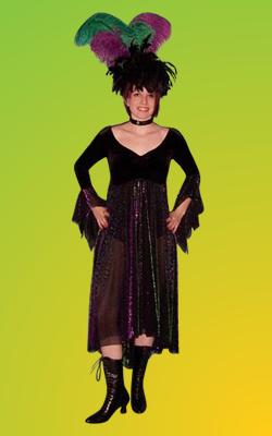 Mardi Gras - Lady 2